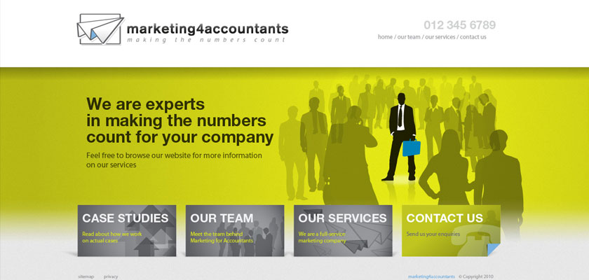 Marketing for Accountants Website Design